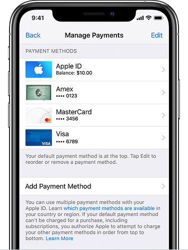 ios12-2-iphone-xs-settings-apple-id-itunes-app-store-view-apple-id-manage-payments