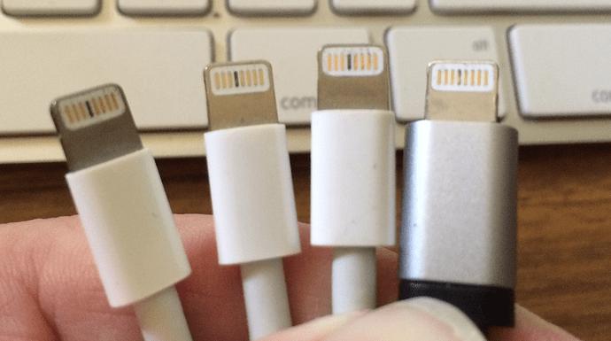 I S Burning Pin  4 On Lightning Bolt Connectors